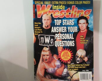 Inside Wrestling Magazine, July 1998