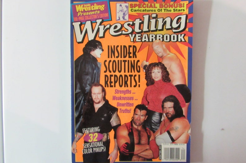 Inside Wrestling Magazine Presents Wrestling Yearbook Winter 1997 Stone Cold