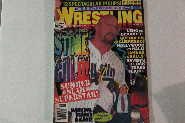 Ringside Wrestling Magazine November 1998 Stone Cold