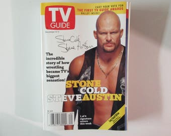TV Guide Magazine, December5-11 1998, Stone Cold Steve Austin