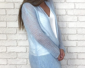 831772fc1 Hand knitted Angora  Wool  Mohair  Cotton sweaters by ESNQknit