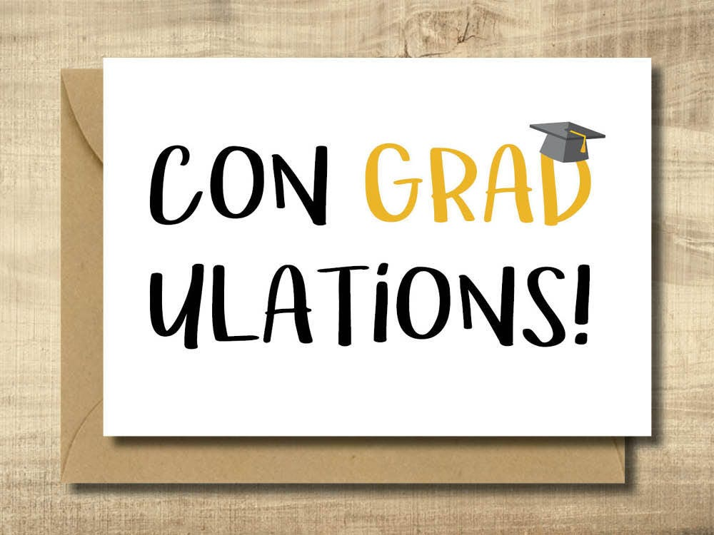 It's just a graphic of Striking Graduation Card Printable