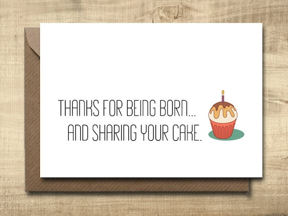 printable birthday card make your own cards at home  etsy