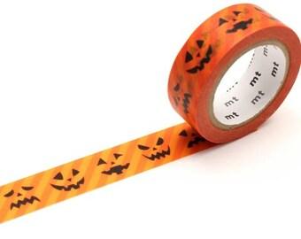 MT Halloween 2017 Jack-o'-Lantern Washi Tape, MT Masking Tape - MTHALL08