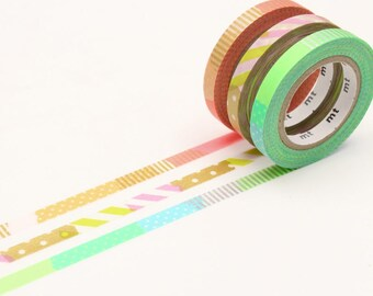 MT Slim Deco E Washi Tape, MT Masking Tape