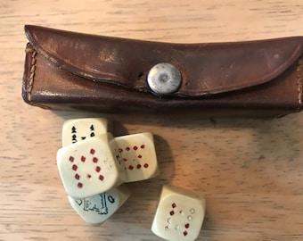 Vintage dice game.