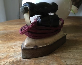 Former small iron.