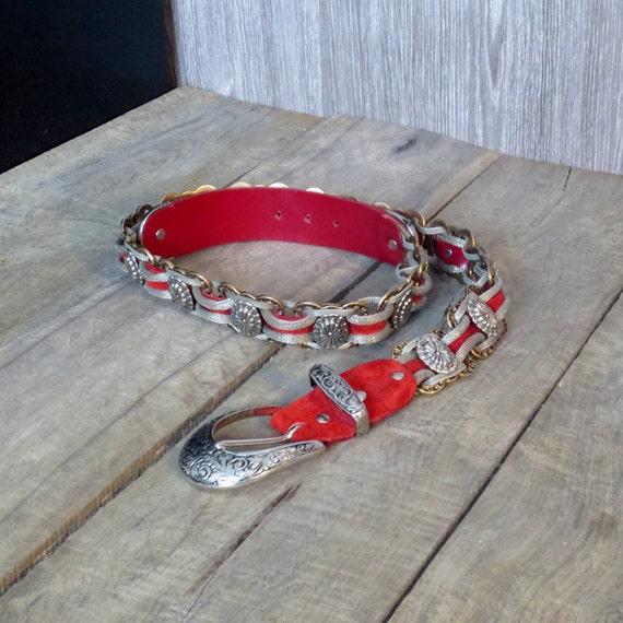 Ceinture Nanni ceinture vintage ceinture bijou fabriquée   Etsy 9dd4019bec0