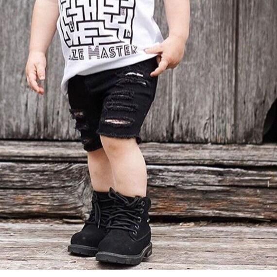 Noir Skinny Shorts