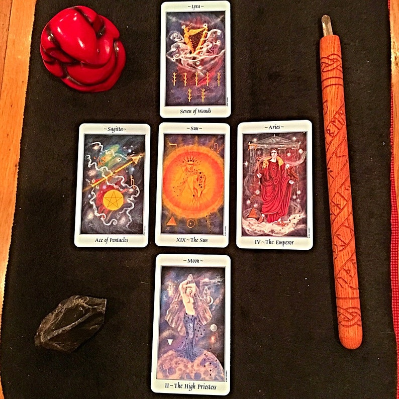 Celestial Tarot Reading with Astrological Birth Chart