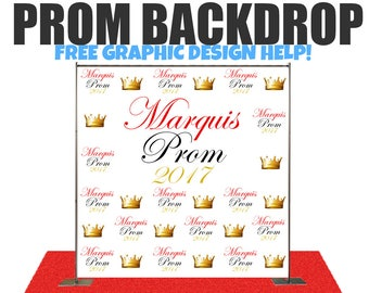 Prom Step And Repeat Photo Backdrop For WeddingsBirthday Baby Shower Graduation Party Red Carpet Event Photography