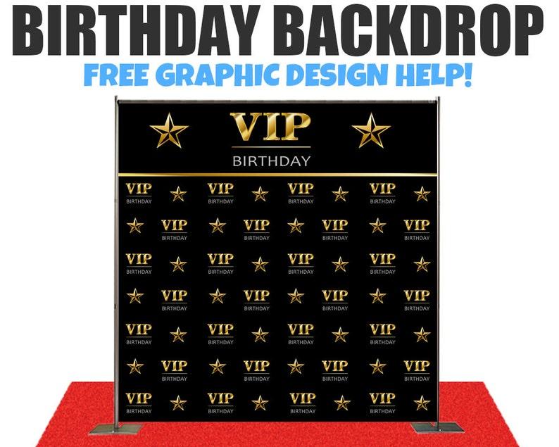 Birthday Photo Booth Backdrop -Wedding Photo Booth Backdrop, Step and  Repeat Backdrop,Wedding backdrop, Birthday Backdrop, Event Backdrop,