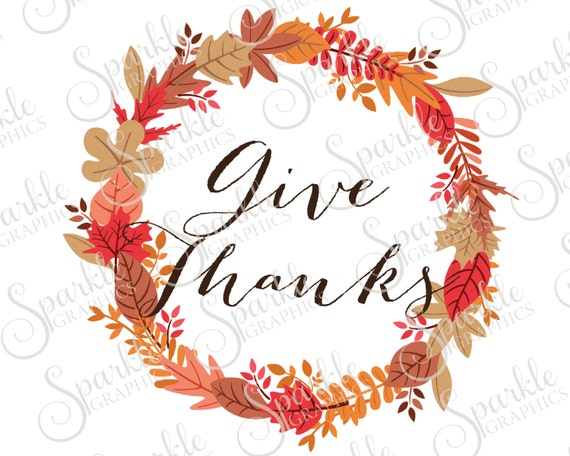Give Thanks Svg Fall Wreath Svg Fall Svg Fall Autumn Etsy