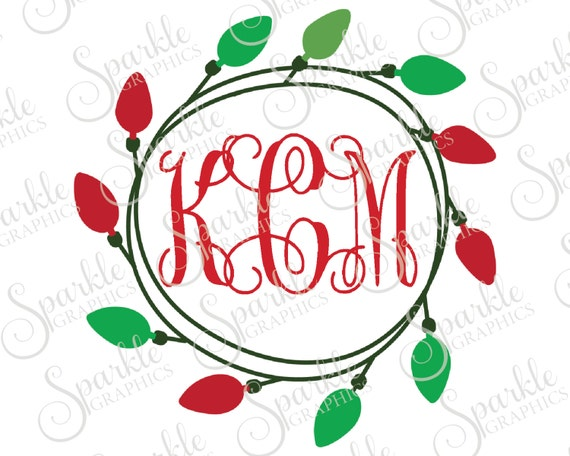 Christmas Light Monogram Frame Christmas X-Mas Christmas SVG Christmas  Monogram Svg Dxf Eps Png Silhouette Cricut Cut File Commercial Use - Christmas Light Monogram Frame Christmas X-Mas Christmas SVG Etsy