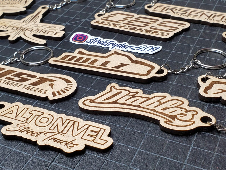 for your keys perfect gift Truck Club wood Keychains for your truck for your car