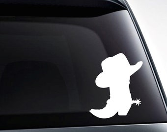 Cowboy Butts Drive Me Nuts Rodeo Graphic Decal Sticker Car Vinyl
