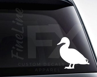 Duck Silhouette Vinyl Decal Sticker / Decal For Cars, Laptops, Tumblers And More