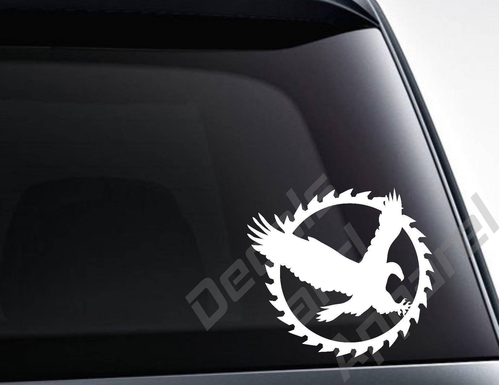 Yin Yang Skulls Sticker for Car Truck Laptop Toolbox Wall Tumbler Window Decal
