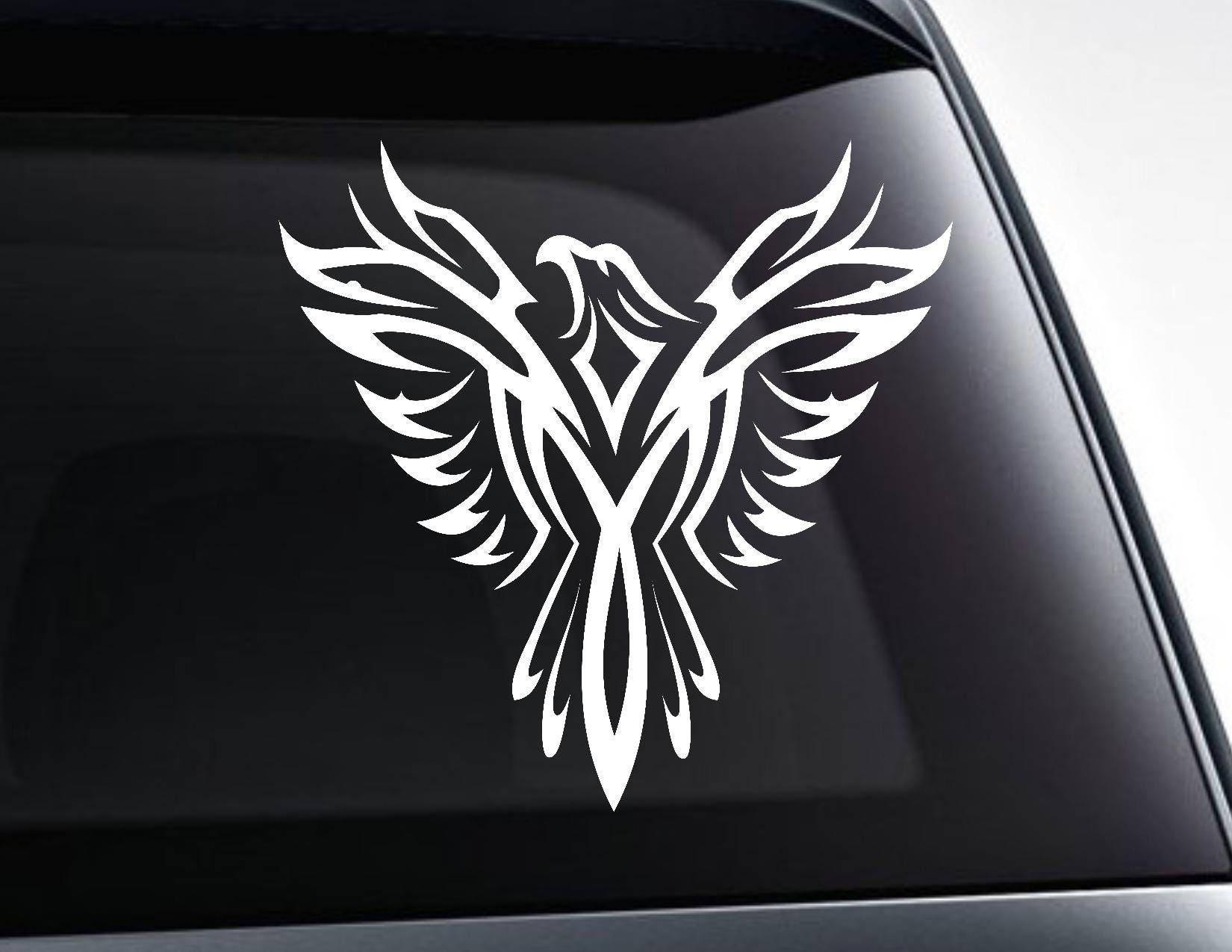 Phoenix Bird Sticker For Car