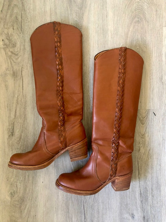 Vintage Frye Riding Leather Boots