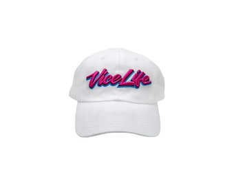 353762cd Miami Vice Life Retro Dad Hats