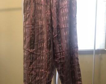 FREE SHIPPING // Vintage Aztec XL Comfy Pants