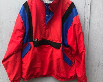 FREE HOLIDAY SHIPPING // Extra Large Vintage Red Pullover