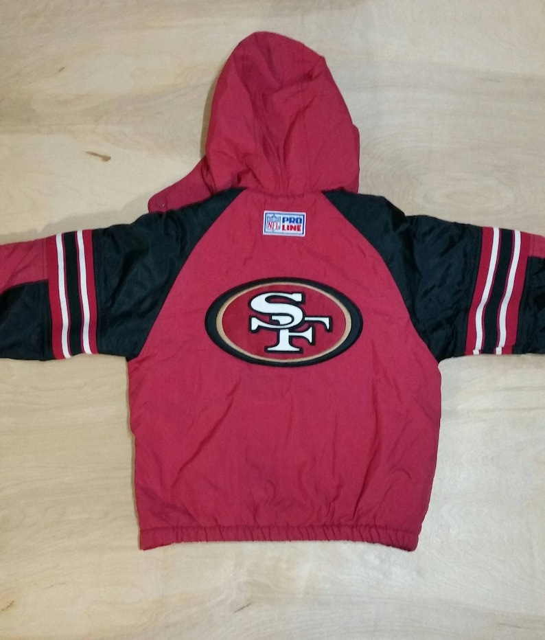 the best attitude 1092b 63e24 Vtg 49ers Starter Pullover- Youth Small