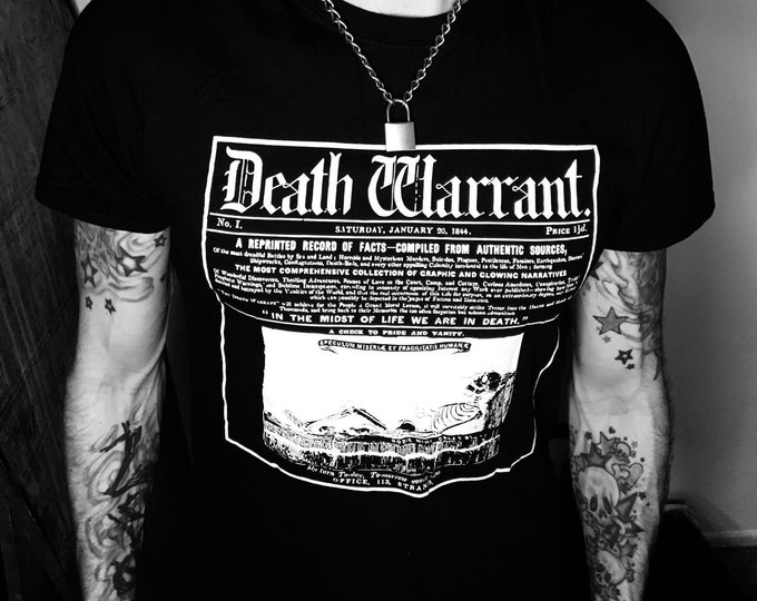 Death Warrant Unisex Tee