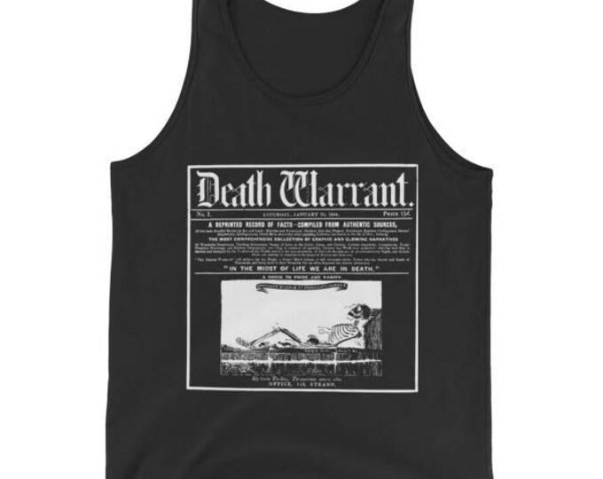 Death Warrant Tank Top - Black