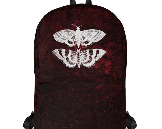 Red Splatter Mothra Backpack