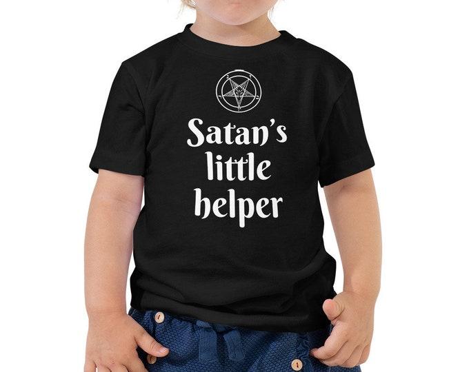 Satan's Little Helper Toddler Tee
