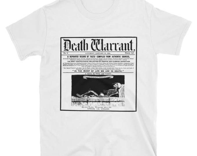 Death Warrant Unisex Tee- White