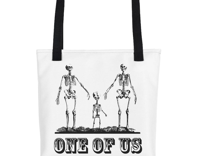 One Of Us Tote- White