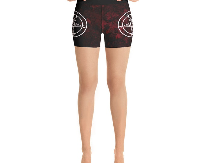 Pentagram Yoga Shorts