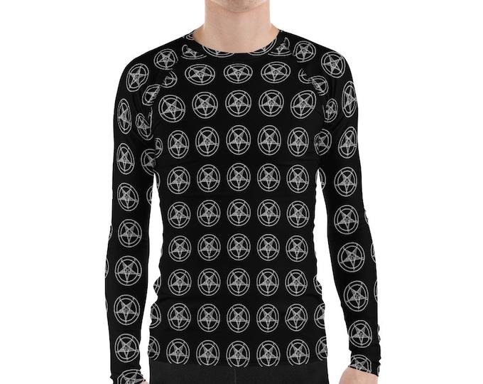 Black and White Pentagram Longsleeve