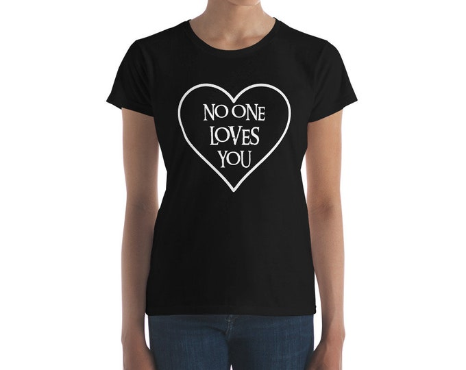 No Love Slim Fit Tee