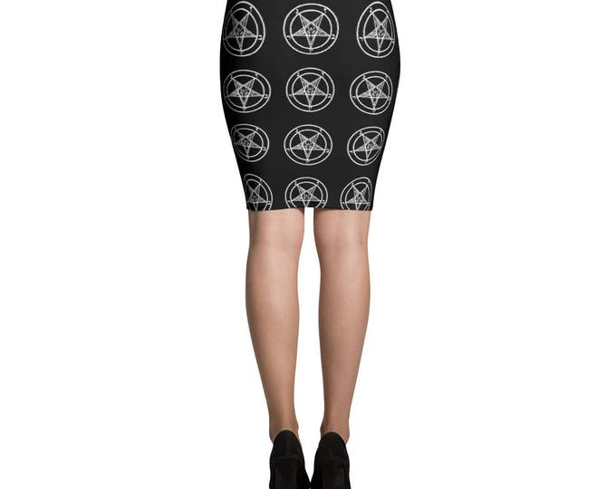 Inverted Pencil Skirt