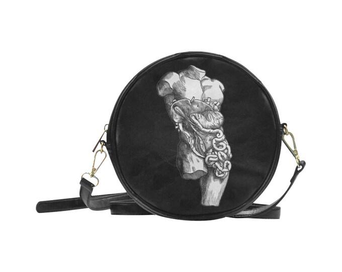 Man Eater Round Sling Bag