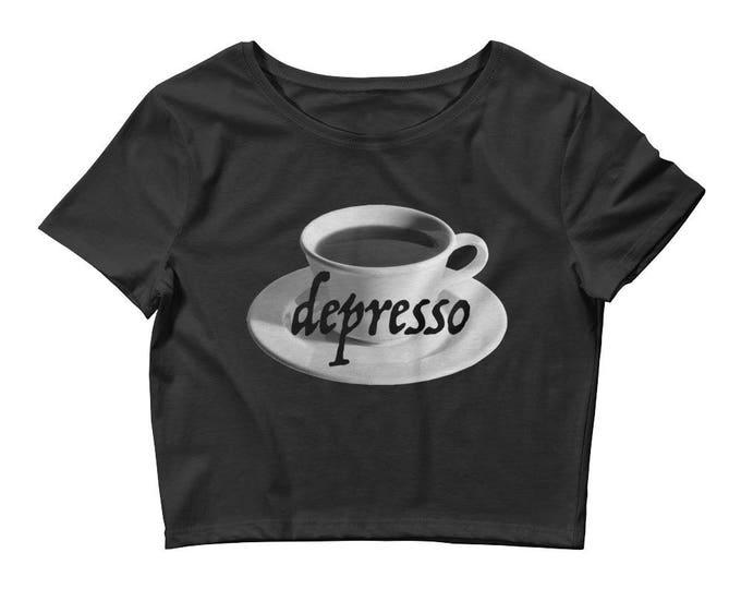 Depresso Crop Black