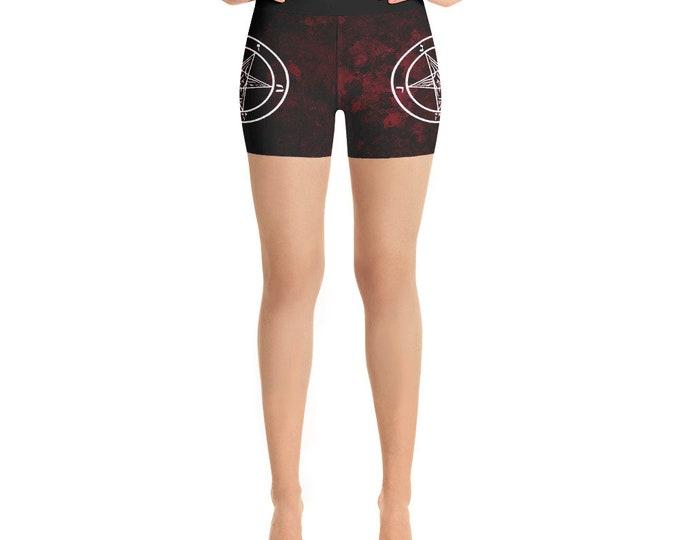 Pentagram Yoga Shorts