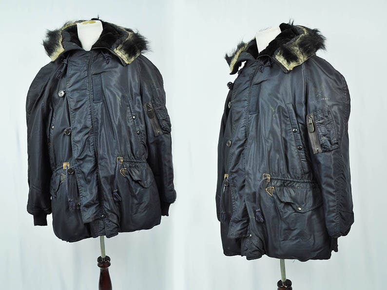 79c95ad9b2a 1960 s U.S.Air Force Jacket USAF N-3A military Parka XL