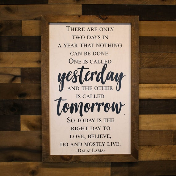 24x36 Modern Farmhouse Sign Dalai Lama Quote Farmhouse Etsy