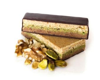 12 Dark chocolate praline bar, dark chocolate, praline bar, chocolate bar, chocolate tablet, nuts bar, energy bar, energy bars