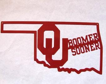 Mailbox Topper Licensed University Oklahoma Sooners Wagon Etsy