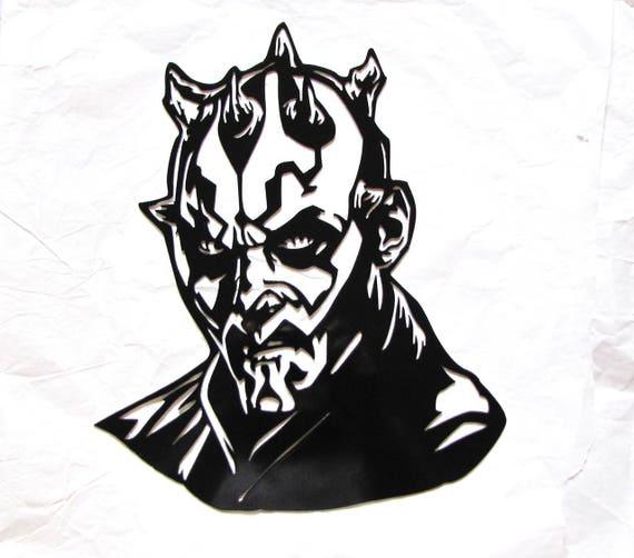 Metal Star Wars DARTH Maul STAR WARS Logo Gift Darth