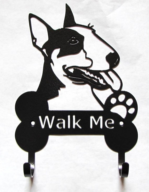 Metal Dog Bull Terrier Leash Hooks Dog Harness Hooks Holder