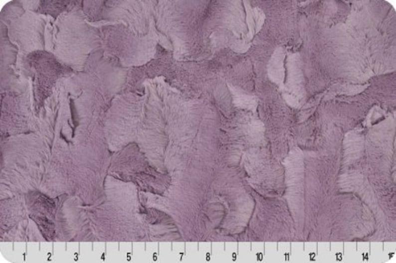 Elderberry Hide Luxe Minky Fabric Purple Shannon Luxe Cuddle Minky Hide Shannon Luxe Cuddle Minky Elderberry Hide Purple Luxe Cuddle