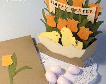 Happy Easter card box