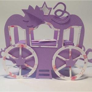 Enchanted..Princess Carriage Lamp Finial